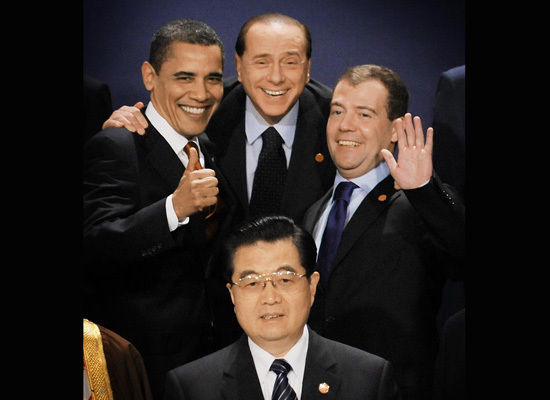 Goofy photo from the G20