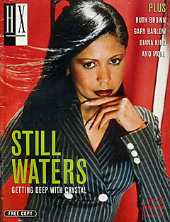 Cover of HX Magazine with Crystal Waters